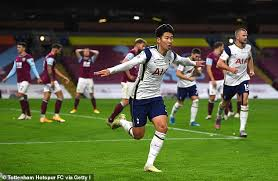 Result Bola Liga Inggris – Gol Tunggal Son Heung Min Bawa Spurs Atasi Burnley